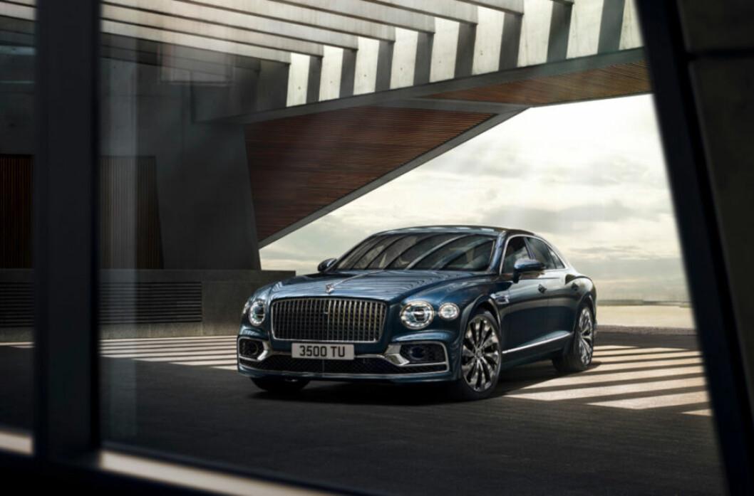 FLYING SPUR: Seltor står bak oppføring av nytt Bentley-bygg i Asker. (Foto: Bentley Motors)