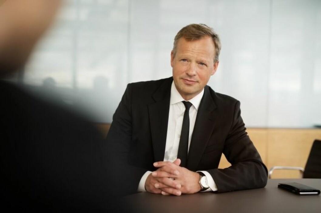 MÅ ØKE: Stig Bech må øke boligproduksjonen hvis DNB Markets skal anbefale Solon Eiendom-aksjen. Foto: CF-Wesenberg.