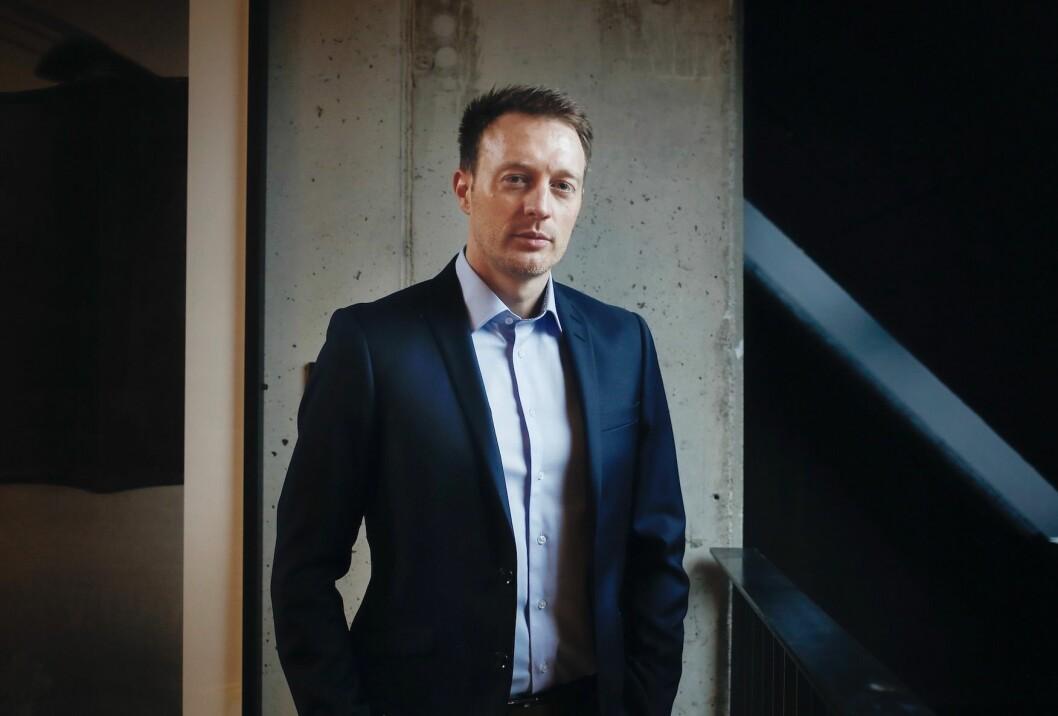 FINNERLØNN: Svein Stokke i eiendomsselskapet Predio tilbyr 100 000 kroner i finnerlønn til personer som tipser om tomter eller råloft med mulighet for utvikling.