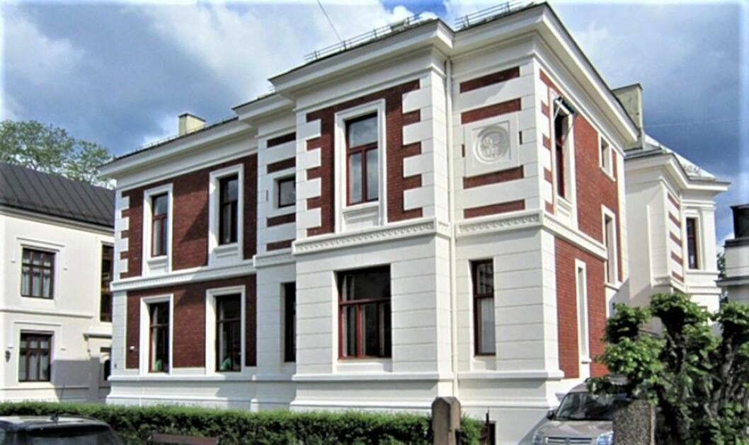 HOVEDKVARTER: Daimyo Eiendom har tilhold i Urianienborg Terrasse 9, som også eies av selskapet selv.(Skjermdump: Daimyo Eiendom)