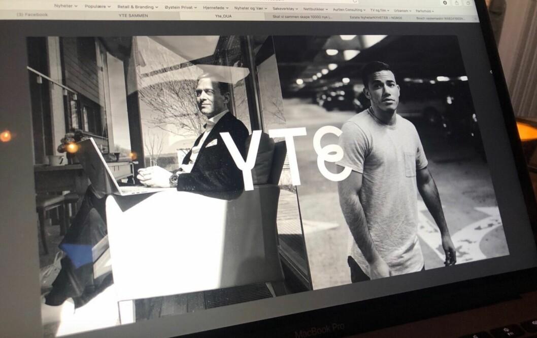 VIKTIG: Det nye initiativet Yte gir muligheter for de som faller utenfor. Her fra en presentasjon som Øystein Aurlien har forberedt.