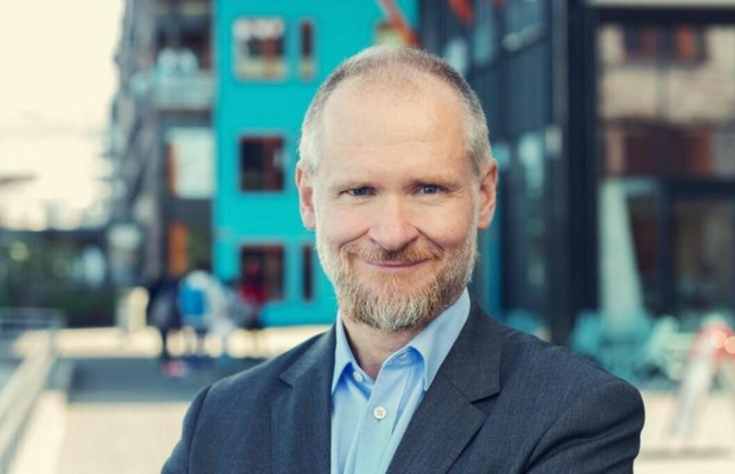TAR OVER: Henning Lauridsen tar over etter Christian Vammervold Dreyer i Eiendom Norge. Foto: NBBL.