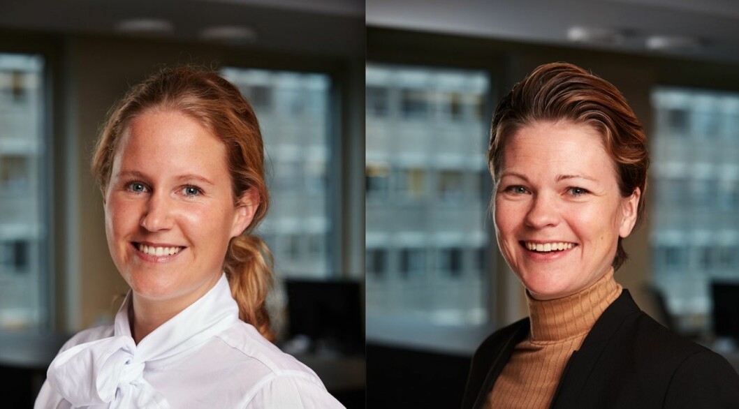 NYE I BRAATHEN: Hanne Platou og Mette Kristine Silseth.