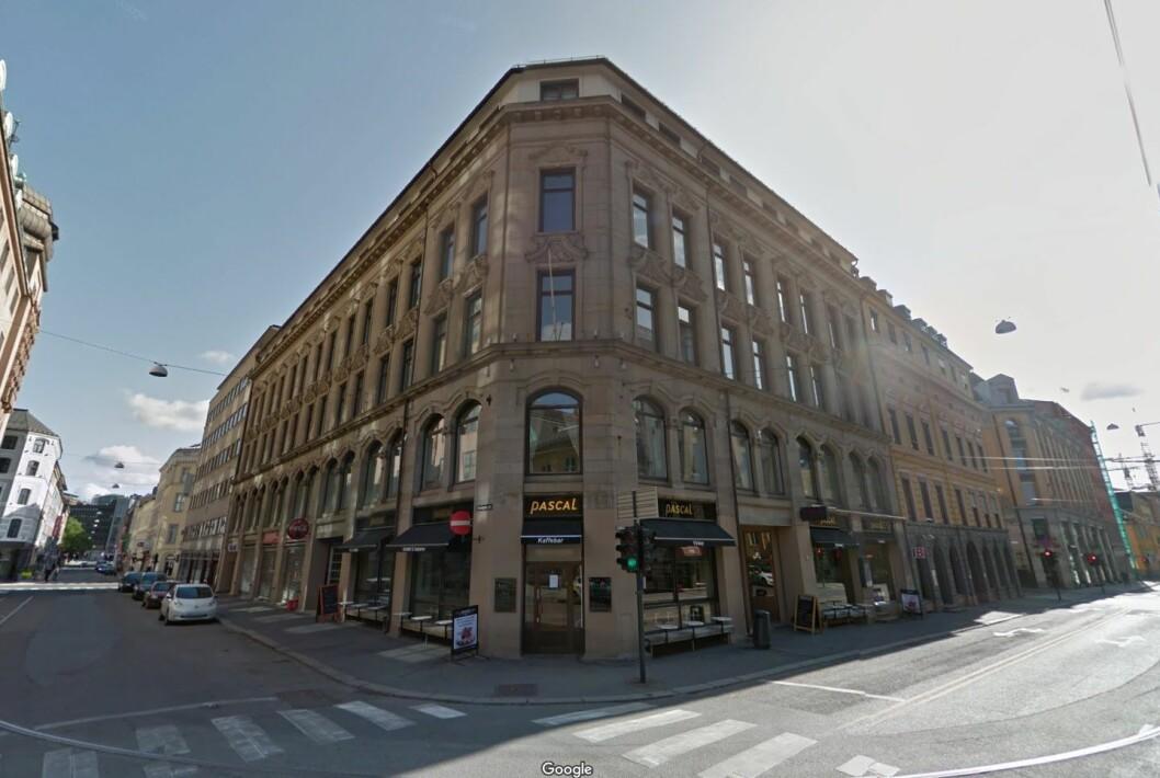 SOLGT: Tollbugata 11 i Kvadraturen i Oslo sentrum. Foto: RSV Eiendom