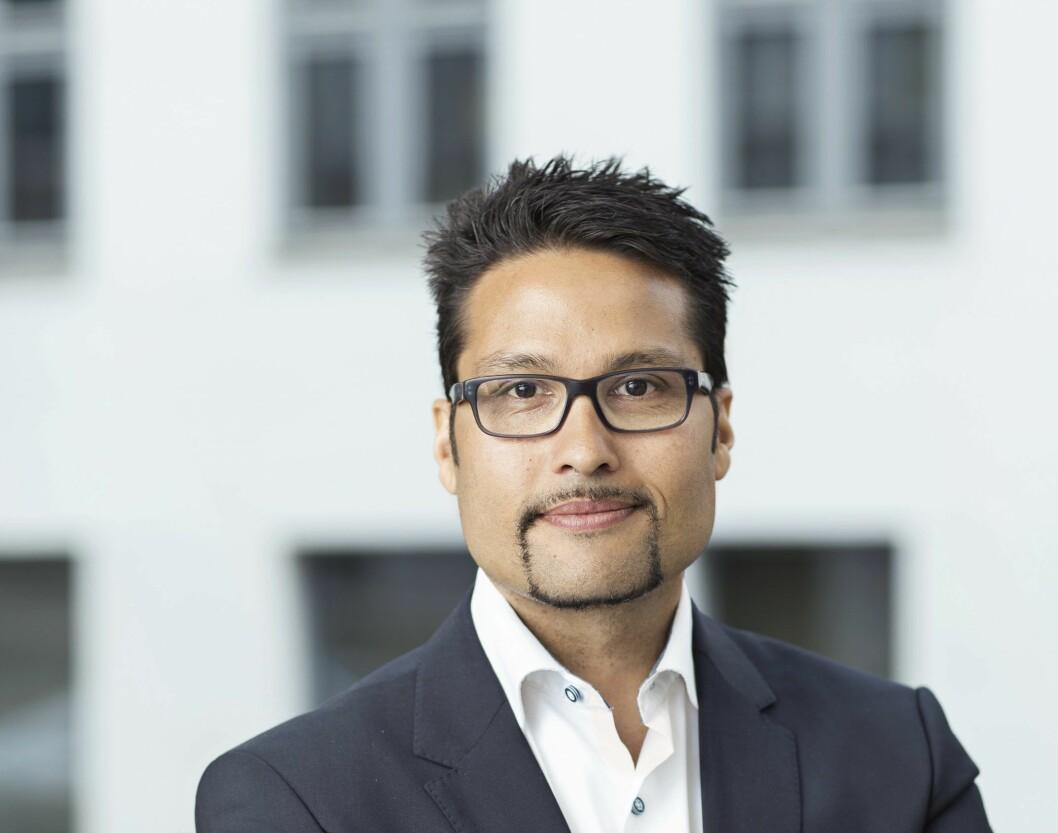 PAUSE: Konsernsjef Daniel Kjørberg Siraj i OBOS trekker seg midlertidig fra styret i Veidekke.