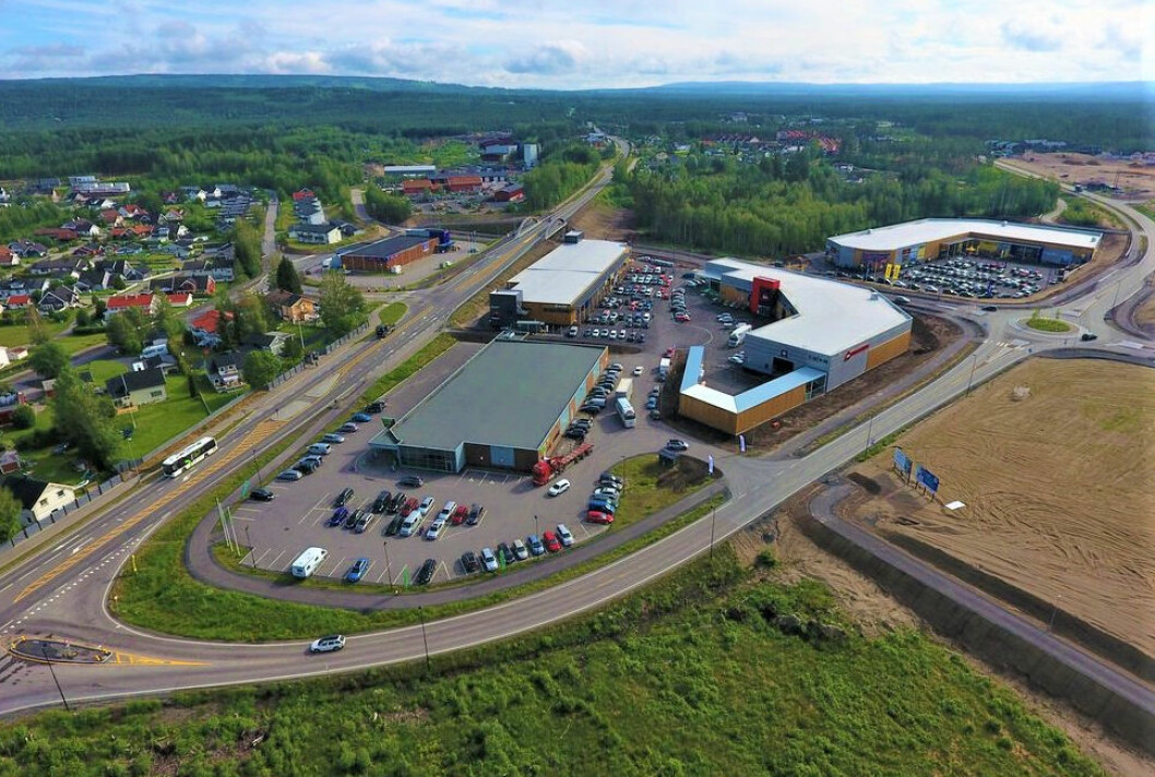 FRANSK ÅPNING: Elverum Handelspark har nå fått franske eiere. (Foto: Elverum Handelspark)