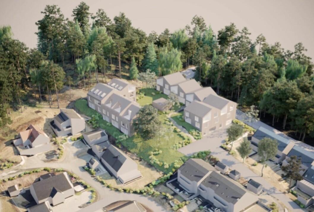 LANG HISTORIKK: Ifølge Alliance arkitekturstudio viser prosjektet en boligstruktur som viderefører tundannelsen med en lang historikk i planområdet.