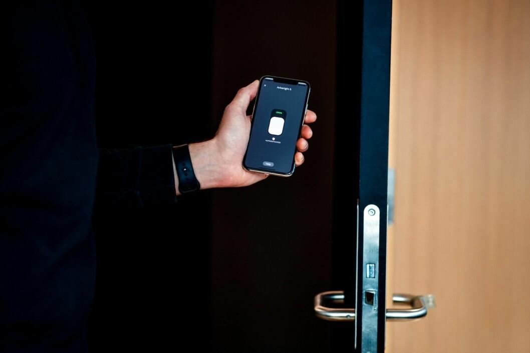 HENTER PENGER: Unloc vil hente penger til sine digitale nøkler. Foto: Unloc
