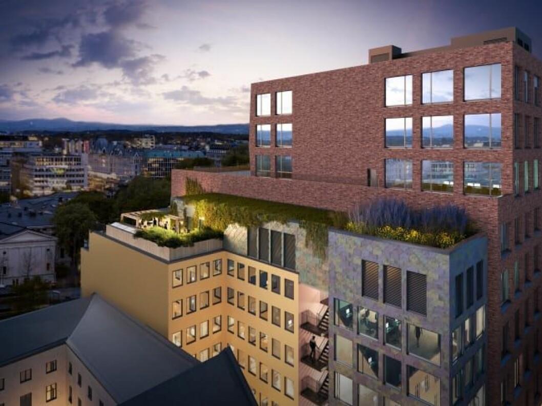 BEVARING: I Oslo tenker Entra nytt om gamle bygg. Ill.: Entra/Mad arkitekter