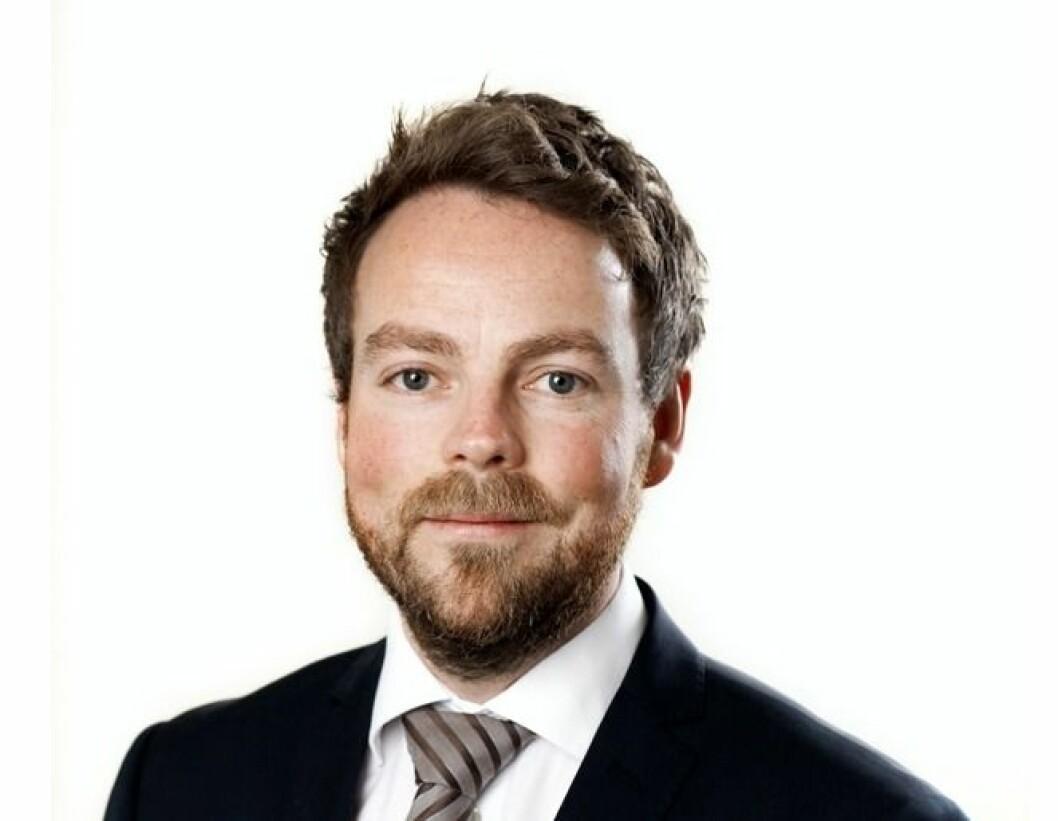 SOLGT: Næringsminister Torbjørn Røe Isaksen har solgt Entra-aksjer. Foto: Marte Garmann