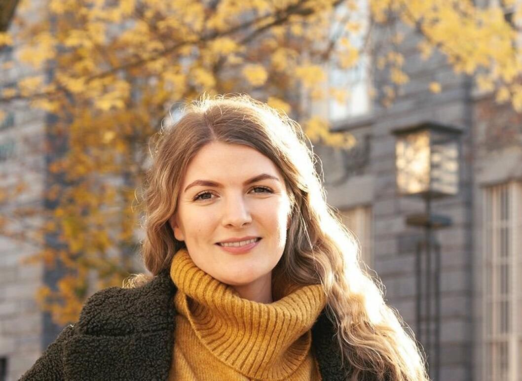 NY: Silje Kristiansen begynner i OMA på nyåret. Foto: Andrea Gamst
