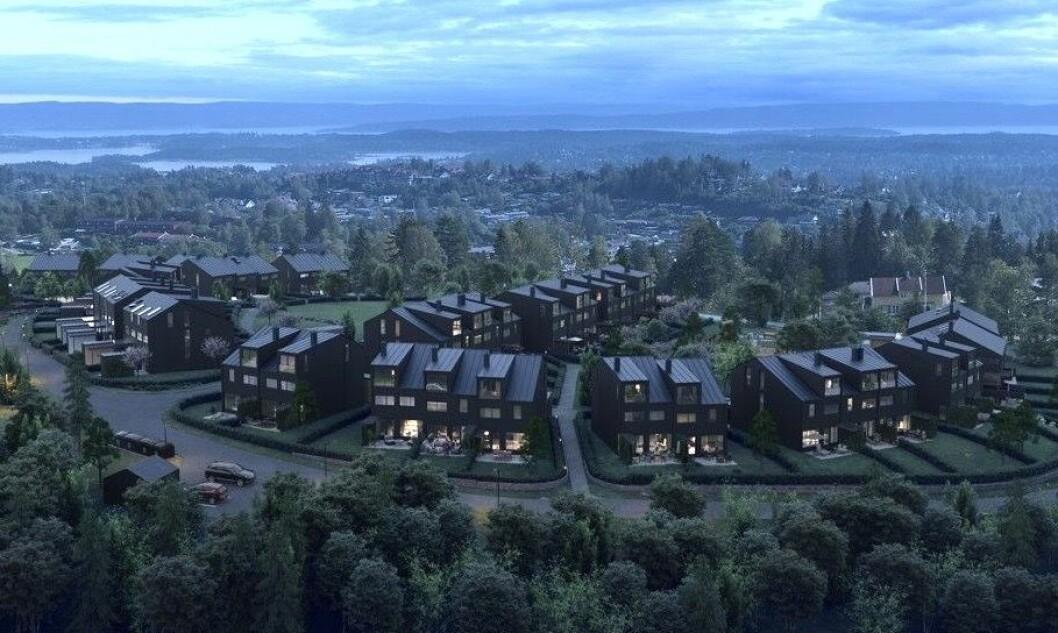 STORT: Solon skal selge boliger for 650 millioner i dette prosjektet.