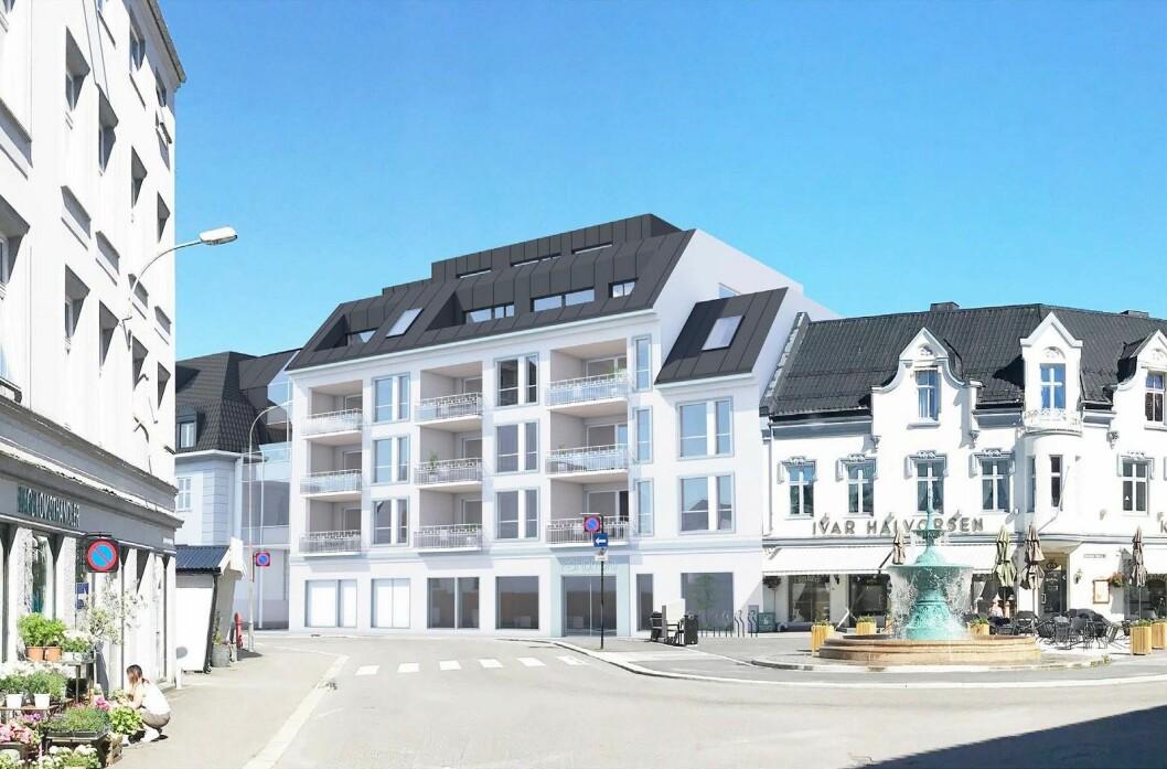 TILPASSET: Etter flere år med planer og tilpasninger, endte prosjektet opp med 12 leiligheter.