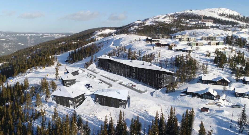 VEKST: Det skal investeres mange hundre millioner kroner i det populære fjellområdet de neste rene.