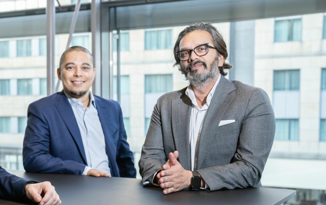TEKNO: Wasim Rashid og Daniel Bentes er R8 Propertys nye teknologihoder.