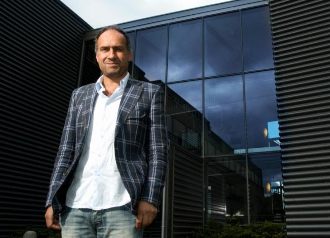 SMAL SAK: HENT-sjef Jan Konrad Jahren fikk til slutt betalt for bygget som selskapet hadde levert, men det måtte en rettssak til.