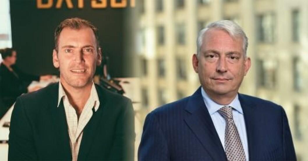 PARTNERE: Jacob Philipson (tv) er styreleder i Datscha, mens Robert M. White, Jr. er CEO och gründer av Real Capital Analytics.