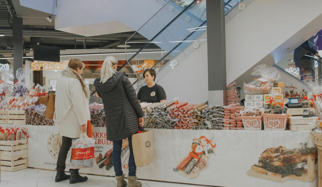 POP-UPS: Citycon  tilbyr onlinebestilling av pop-ups for å holde på kundene. Foto: Jørgen Nordby