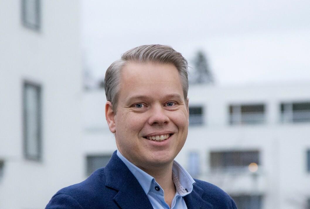 NY: Jonas Mjåvatn begynner i Conceptor Bolig på nyåret.