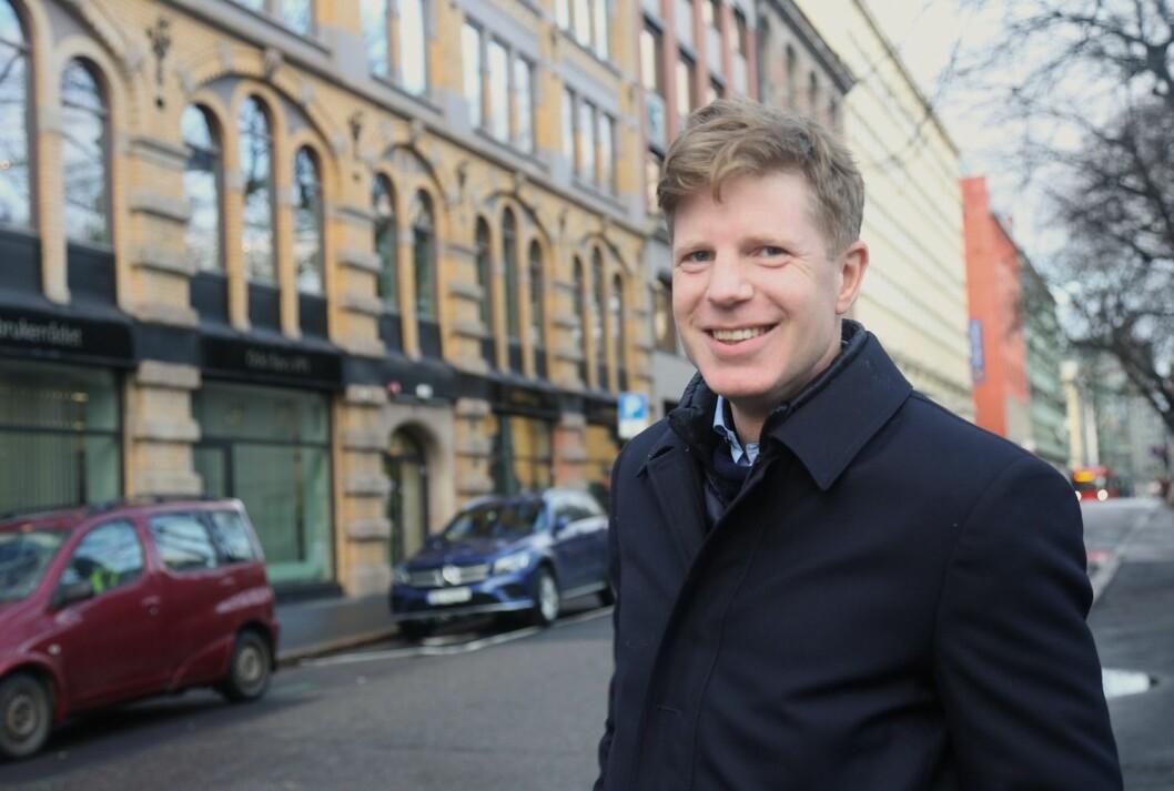 KJØPER: Bernt Nordby Skøien i Clemens Eiendom kjøper i sentrum.