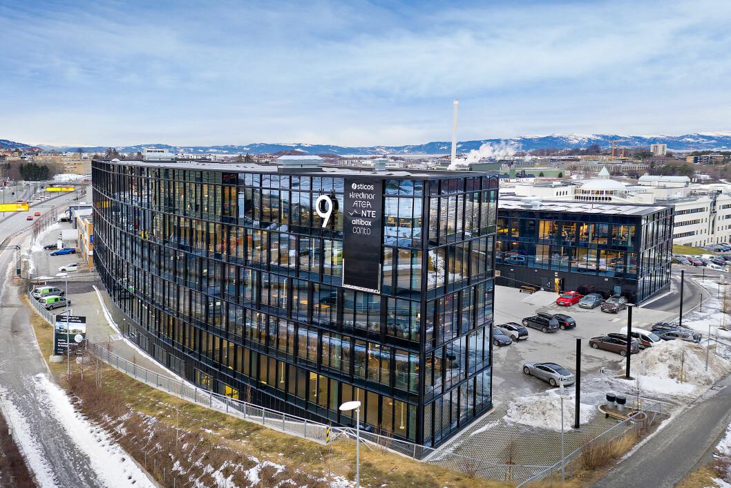 KJØP: KLP Eiendom Trondheim kjøper kontorbygge til 500 mill.