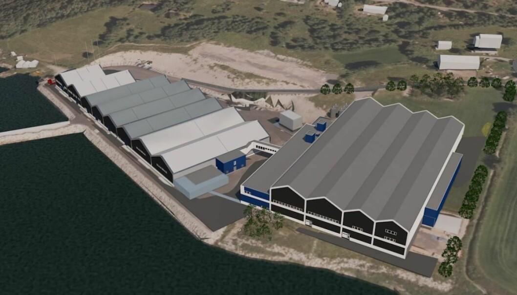 UTVIDER: Nå utvides fabrikken for opp mot 700 millioner kroner.
