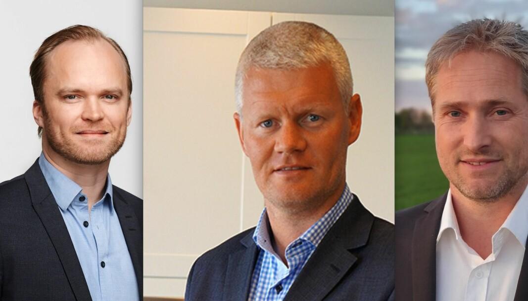 NYE I SELTOR: Fv: Kjetil Skånhaug, Stian Lauritzen og Svein Hågen Hansen.
