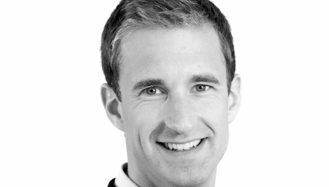 MODERAT FALL: Analysesjef Haakon Ødegaard og hans team ser moderat leieprisfall.