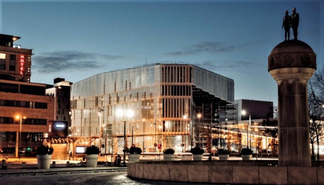 MANGE TVISTER: Om kort tid åpner Oslos nye hovedbibliotek Deichman Bjørvika. Prosjektet har vært plundrete underveis, med en rekke tvister. Blant de siste er en krangel om over 30 millioner kroner, hvor Peab nå har tapt to rettsrunder.