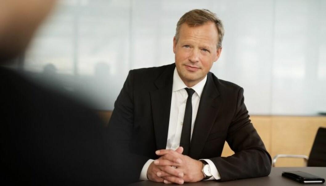 VIL FRIGJØRE VERDIER: Stig Bech, adm. direktør i Solon Eiendom