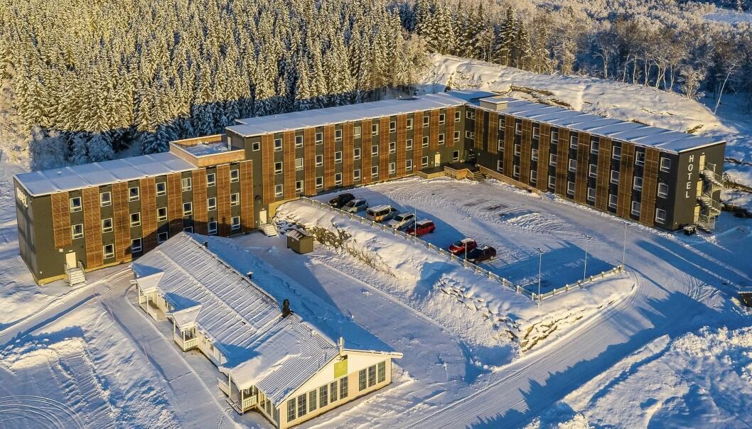 HOTELL: I fjor bygde Wexus Gruppen bygde dette hotellet på på Harstad Narvik flyplass Evenes.