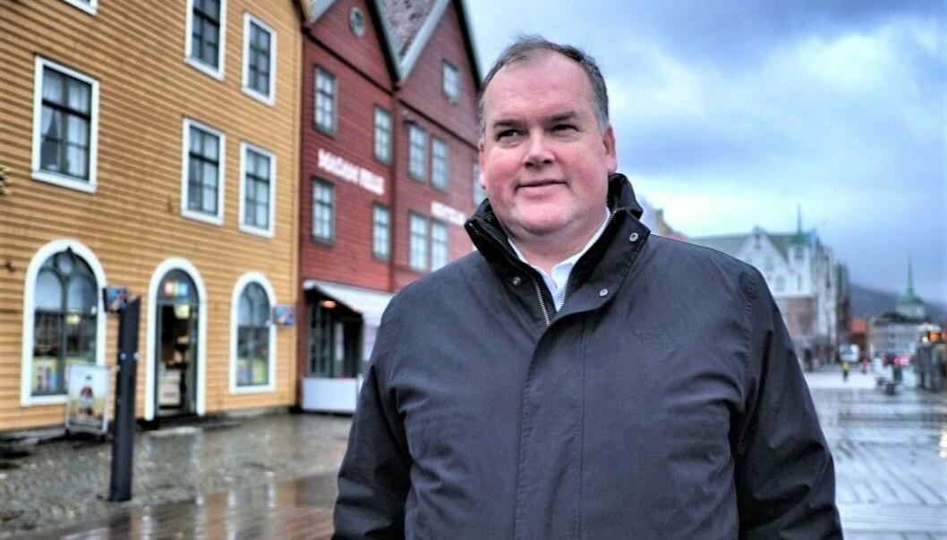 NYE TIDER: - Stikkord for kontormarkedet fremover er større krav til fleksibilitet og andre måter å jobbe på. Dette vil påvirke arealbehovet, sier Thor Bjørdal i Colliers International.