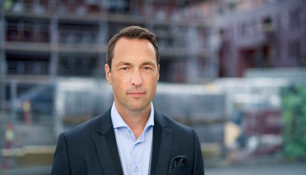 Johan Bruun, administrerende direktør USBL.