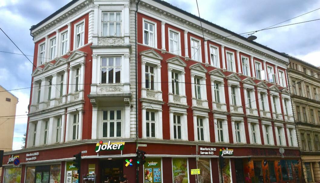 SKAL TVANGSSELGES: Asker og Bærum tingrett slår fast at flere leiligheter i denne bygården i Gamlebyen i Oslo skal tvangsselges, etter at et Asker-par ble bedratt i forbindelse med eiendomsinvesteringer i Brasil.