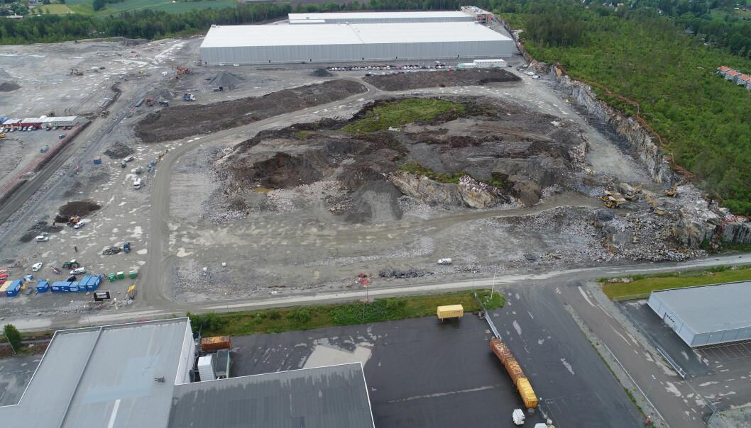 BUDKRIG: Ferd Eiendom opplever en intens interesse for denne eiendommen.
