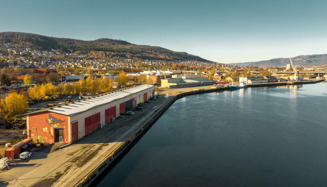 TANGENKAIA: Det tidligere havneområdet skal bli en ny bydel.