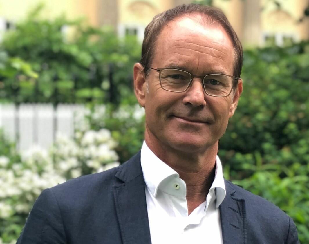 Eirik Thrygg, administrerende direktør Höegh Eiendom.