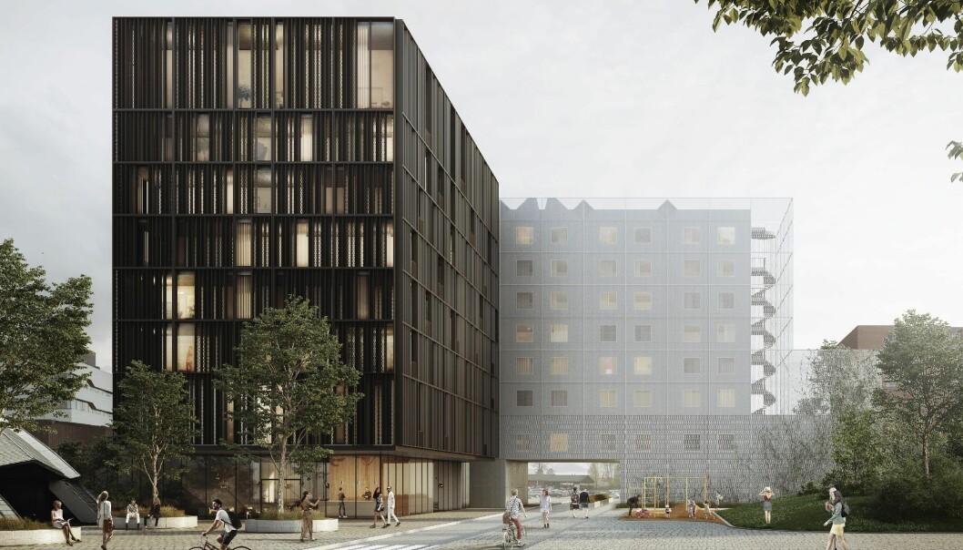 I GANG: Hotellet skal være ferdig utvidet innen neste sommer.