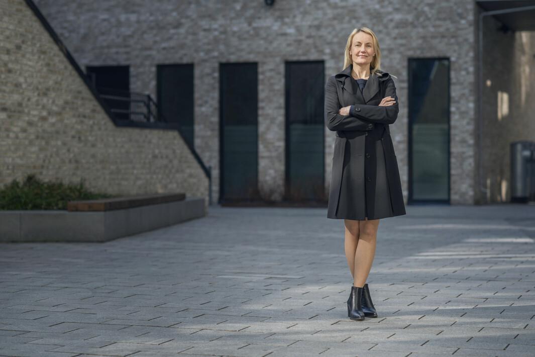 Tonje Marie Haugbro, direktør boligsalg i Olav Thon Gruppen.