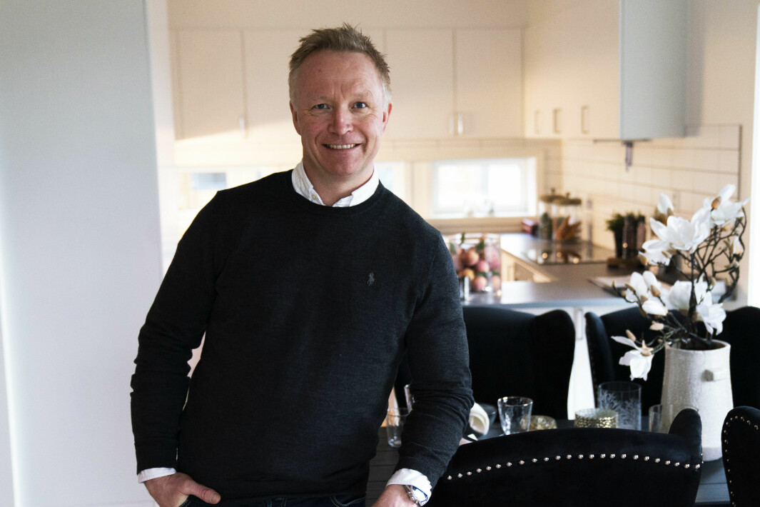 Ronny Engebretsen, daglig leder i Øie Eiendomsutvikling.