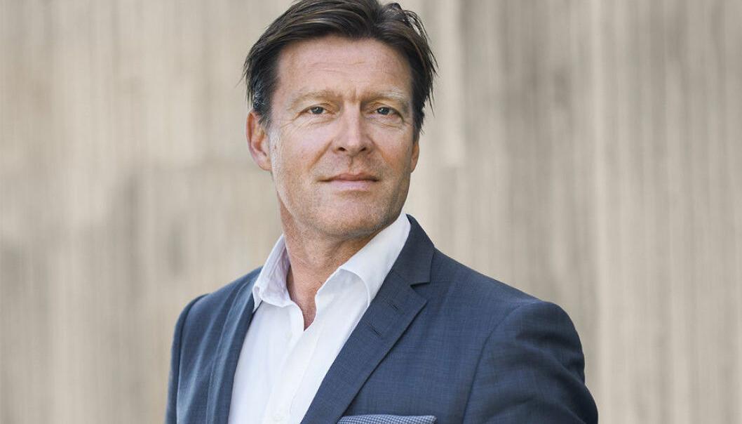 PÅ SVENSKEHANDEL: Knut Holte i Scandinavian Property Group.