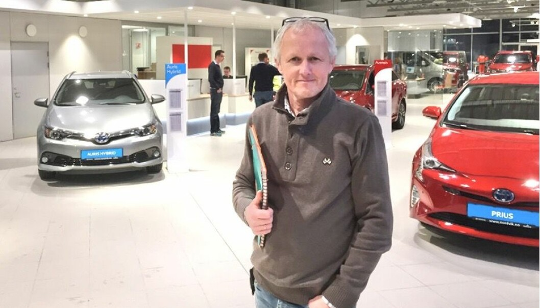 STORT: Nordvik Gruppen er størst på bil, men eiendomssjef Paal Skaalsvik har nok å henge fingrene i.