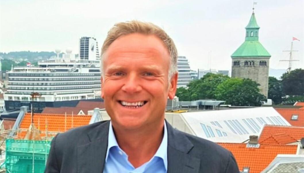 BLIR EN DEL AV VISMA: Rune Svindland, daglig leder i Create-Solutions AS.