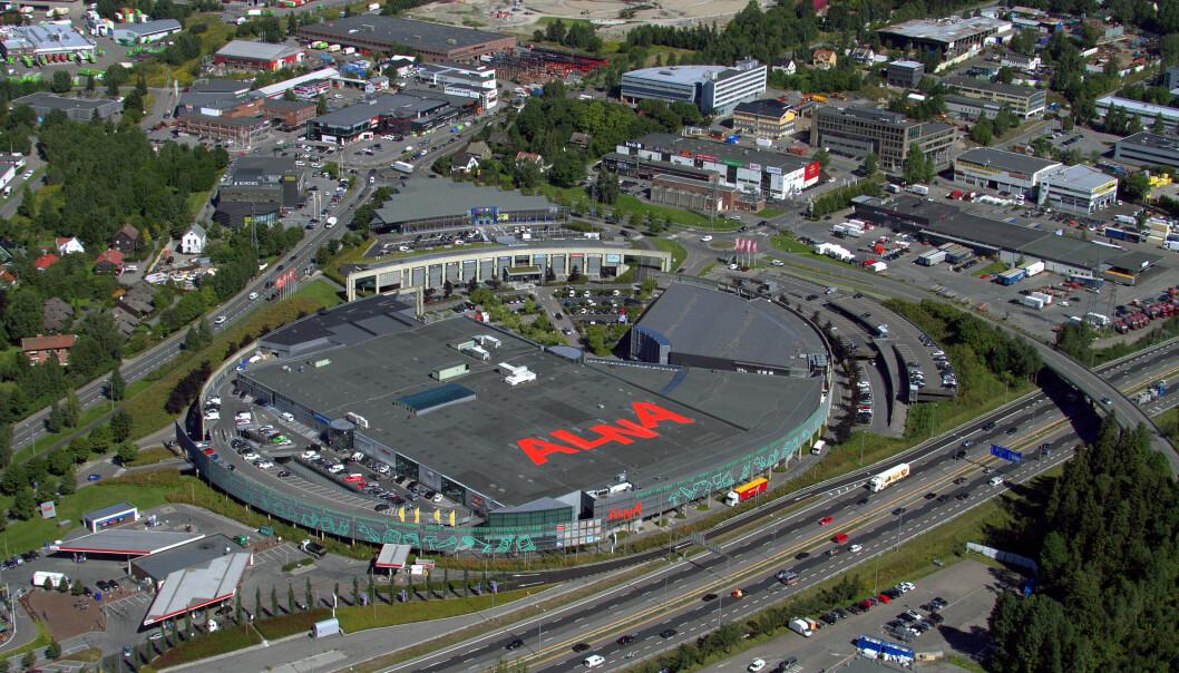 VEKST: Alna Senter har hatt kraftig salgsvekst i 2020.