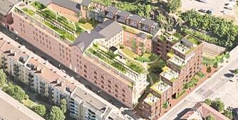 Gammel kjeksfabrikk blir boliger