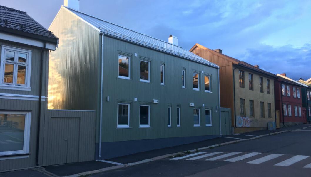 KARTET STEMTE IKKE MED TERRENGET: Eiendomsselskapet Bonum må ut med millionerstatning etter at tegningene til dette boligprosjektet på Vålerenga viste seg å være feil.