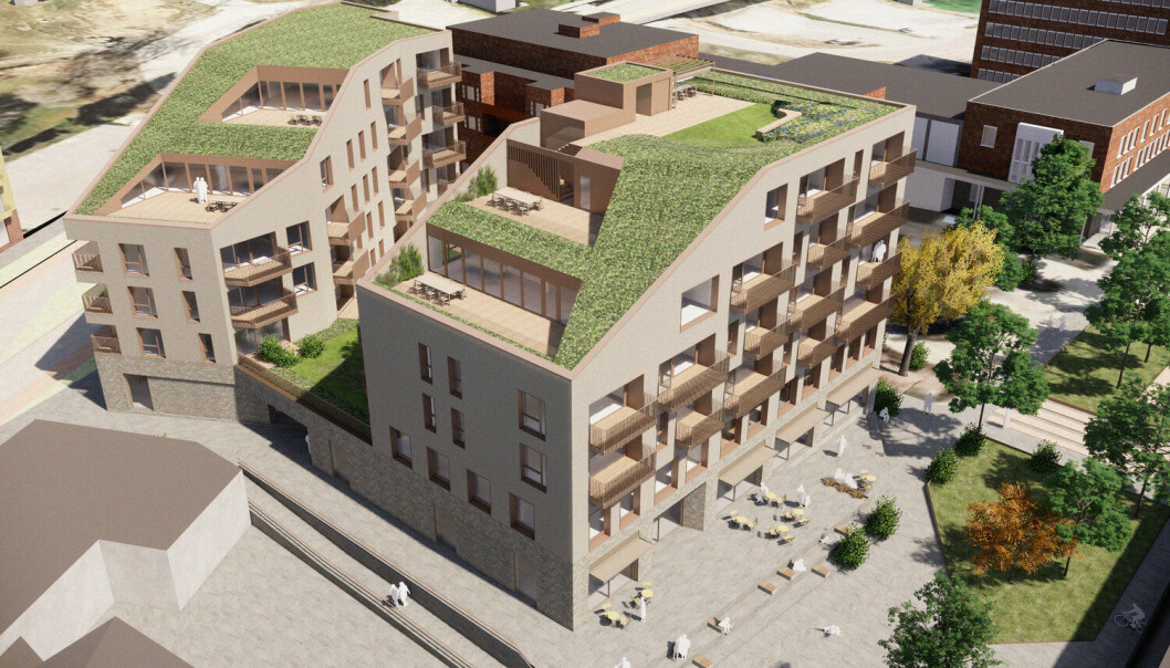 KLART: Sånn blir Vinklgården som skal stå ferdig i 2022.