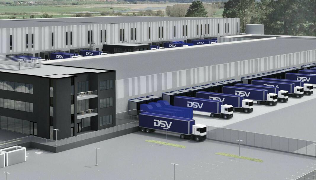 LANG LEIEAVTALE: DSV har signert en lang leieavtale på eiendommen.