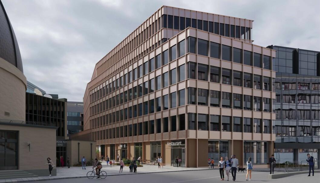 TILPASNING: Fridtjof Eiendom ønsker en økning og modernisering av bygningsmassen, samtidig som den tilpasser seg det historiske bymiljøet.