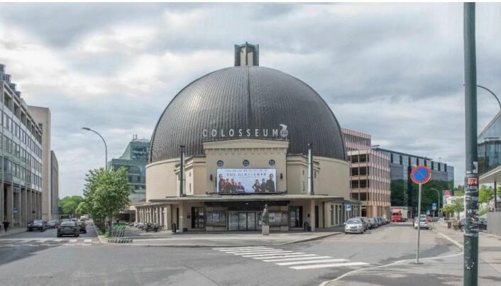 KJØPTE: Eiendommen ligger ved Colosseum kino, som Fridtjof Eiendom nylig kjøpte.